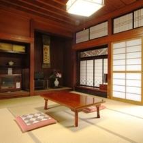 島崎藤村が実際に滞在したお部屋になります