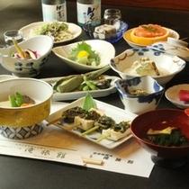 夕食 精進料理全体のイメージ