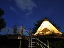 マッシュルームキャンプ(夜)