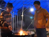 【里山冬BBQ】冬こそ暖かな炎を囲むBBQの季節!