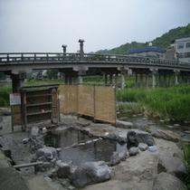 三朝温泉(河原風呂)
