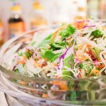 有機JAS認定野菜使用のサラダ・オリジナルドレッシング