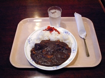 ホテルミナミ特製カレー(夕食)