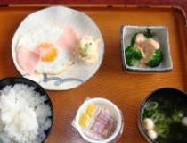 朝定食(500円メニュー)