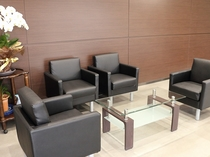 ロビー椅子・テーブルセット
