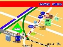 石川町駅から道順