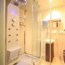 ■全室多機能のシャワーブースを完備 ※バスタブはございません。