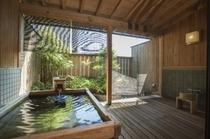庭園付露天風呂客室(檜アップ)