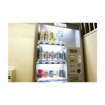 館内にある自動販売機