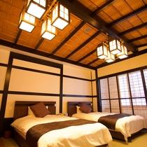 スィート「藤五郎」/寝室