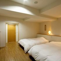 広々和洋室「バリアフリールーム」/寝室