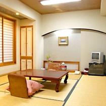 *客室一例/ 和室11畳の広々としたお部屋です。