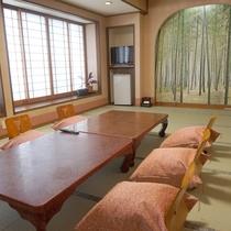*客室一例/和室13畳 小宴会にもご利用いただけます。