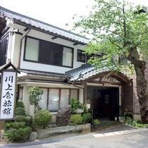 *新緑/山懐のくつろぎの宿 越後村杉温泉 川上屋旅館へようこそ♪
