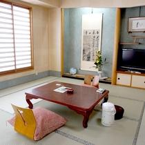 *客室一例/和室11.5畳 日当たりのよい、2〜5名様向けのお部屋です。