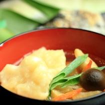 夕食-すいとん 群馬県の郷土料理