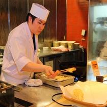 【地産地消バイキング】揚げたての天ぷら