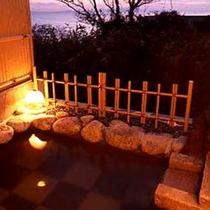 *貸切露天/ファミリーやカップルさんに人気♪誰にも気兼ねせず海と温泉をご堪能いただけます。