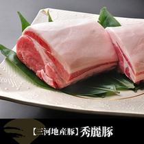 【三河地産豚】秀麗豚
