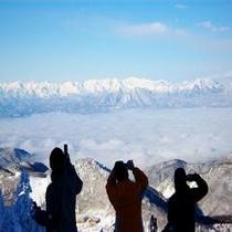 一の瀬ファミリースキー場山頂