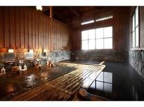 檜風呂「桃源の湯」男湯