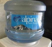 地元安曇野の水「アルピナウォータ」