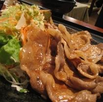 特製豚の照焼定食