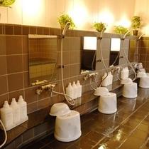 ゆとりの洗い場スペース