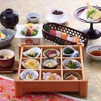 <日本料理 「はりま」料理一例>日本料理に良くあう、播州の地酒もございます。