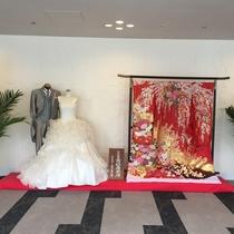 <婚礼衣装 一例>