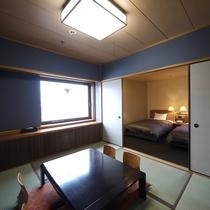 <ロイヤルルーム>和洋室のお部屋です。 ※ご予約はお電話にて承ります。