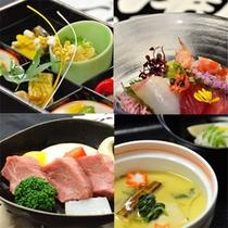 秋料理4種