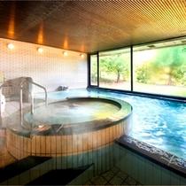 【天然温泉】大浴場 サウナ・ジャグジーも完備