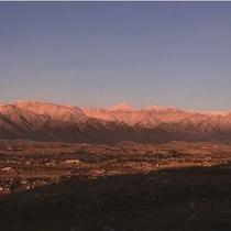 早起きした人だけが体験できる北アルプス眺望ツアー