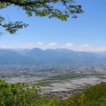 夏・初夏の光城山
