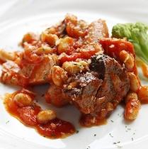 選べる夕食〜牛肉と白インゲン豆の煮込み〜