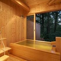 貸切風呂 湯檜2