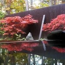 紅葉見露天風呂2