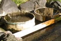 味噌樽風呂のお風呂