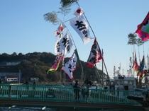 10月12日おんべ鯛奉納船