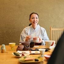 ■朝食風景
