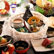 ■「おすすめ料理コース」冬の一例