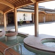 和倉温泉総湯前の足湯