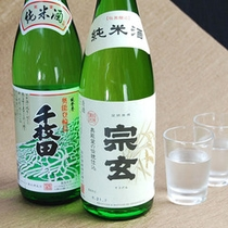 石川、和倉の地酒もご用意♪