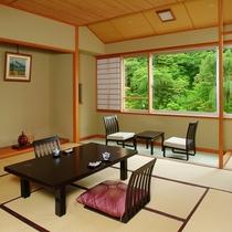 【別館瑞祥殿和室】新緑に包まれる美観の和室