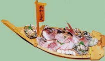 鯛の活造り(特別料理)