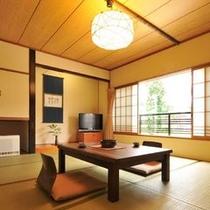 【二間客室】和室10畳+ベッドルーム