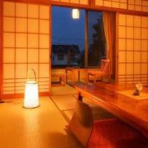 温かみ溢れる客室