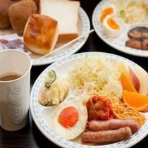 健康バイキング朝食(盛り付け例)