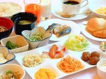■朝食:メニューのバランスを考慮した食材!